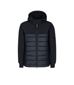 C.P. COMPANY - Giubbotti - c.p. shell-r mixed jacket nero