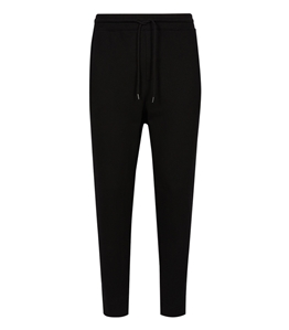 C.P. COMPANY - Pantaloni - pantalone track metropolis series diagonal raised fleece nero