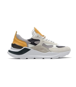 D.A.T.E. - Scarpe - Sneakers - fuga mesh gray