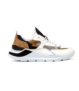 D.A.T.E. - Scarpe - Sneakers - fuga mesh light gray