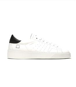 D.A.T.E. - Scarpe - Sneakers - levante calf bianco-nero