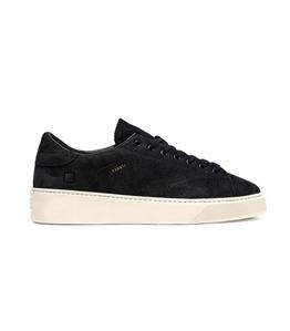 D.A.T.E. - Scarpe - Sneakers - levante nabuk blue