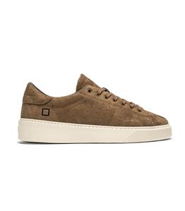 D.A.T.E. - Scarpe - Sneakers - levante nabuk taupe