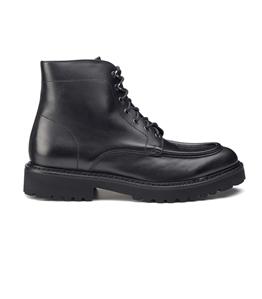 Doucal's - Scarpe - Sneakers - polacchini stringati blake in pelle nera