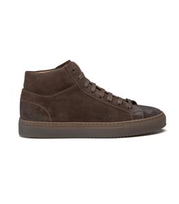 Doucal's - Scarpe - Sneakers - sneakers alta in suede testa di moro