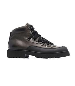 Doucal's - Scarpe - Sneakers - stivali a pannelli nero asfalto