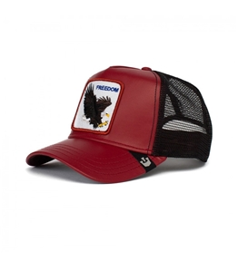 Goorin Bros - Cappelli - trucker freedom limited edition rosso