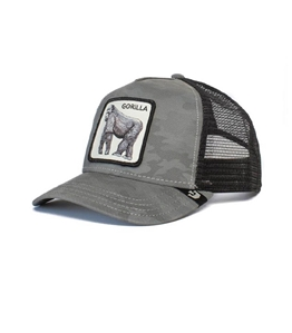 Goorin Bros - Cappelli - trucker gorilla limited edition grigio