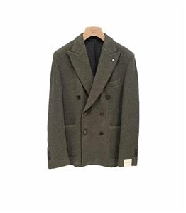 L.B.M.1911 - Giacche - giacca punto doppiopetto verde