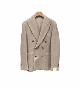 L.B.M.1911 - Giacche - giacca punto doppiopetto beige