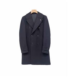 L.B.M.1911 - Cappotto - cappotto doppiopetto blu