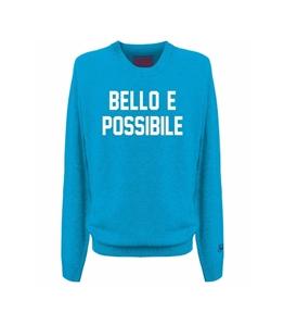 Mc2 Saint Barth - Maglie - maglione bello e possibile con stampa celeste