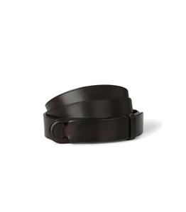 Orciani - Cinture - cintura nobuckle bull in cuoio testa di moro
