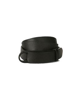 Orciani - Cinture - cintura nobuckle saffiano in pelle nero