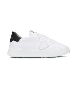 Philippe Model Paris - Scarpe - Sneakers - temple veau - blanc noir