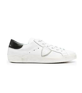 Philippe Model Paris - Scarpe - Sneakers - prsx veau - bianco nero