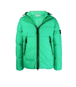 Stone Island - Giubbotti - garment dyed crinkle reps ny down-tc verde