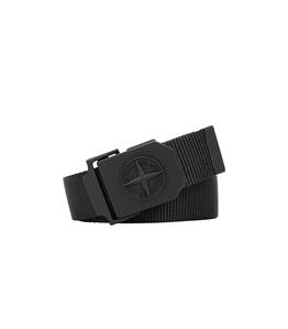 Stone Island - Cinture - cintura nylon nera
