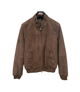 The Jack Leathers - Giubbotti - giacca england in pelle dark mastice