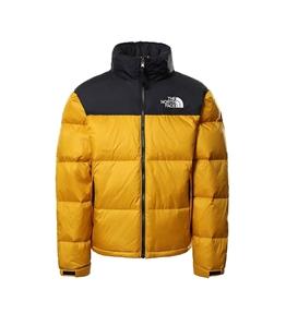 The North Face - Giubbotti - giacca ripiegabile 1996 retro nuptse giallo arrowwood