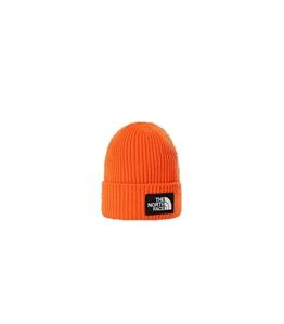 The North Face - Cappelli - berretto con risvolto arancio