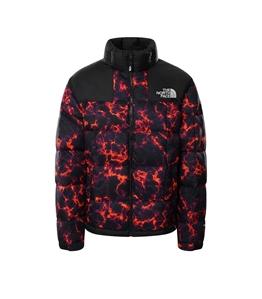 The North Face - Giubbotti - giacca in piumino lhotse nero marble camo print