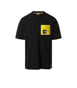 The North Face - T-Shirt - search & rescue t-shirt con taschino nero