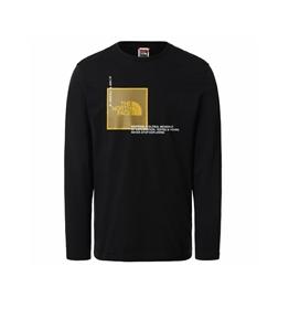 The North Face - Maglie - t-shirt a maniche lunghe coordinates nero
