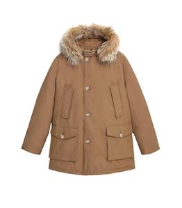 Woolrich - Giubbotti - parka arctic con pelliccia removibile marrone