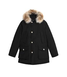 Woolrich - Giubbotti - parka arctic con pelliccia removibile nero