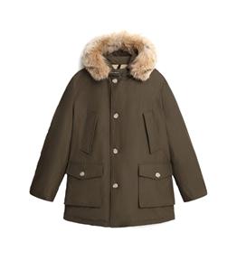 Woolrich - Giubbotti - parka arctic con pelliccia removibile verde