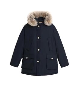 Woolrich - Giubbotti - parka arctic con pelliccia removibile blu