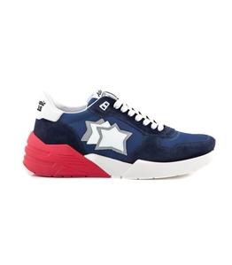 Atlantic Stars - Scarpe - Sneakers - sneakers mars in suede drill blu