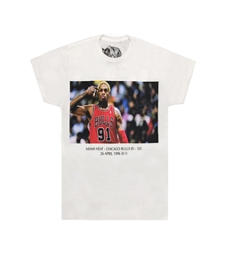 Bastille - T-Shirt - t-shirt con stampa rodman bianca