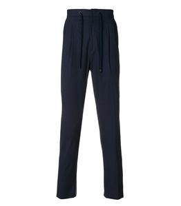 Be Able - Pantaloni - pantalone in cotone simon blu