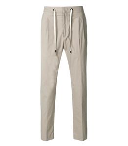 Be Able - Pantaloni - pantalone in cotone simon fango