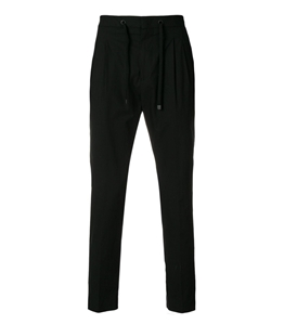 Be Able - Pantaloni - pantalone in cotone simon nero