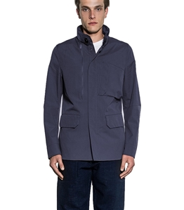 Duno - Giubbotti - field jacket nebula blu