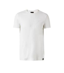 Emporio Armani - Saldi - t-shirt con logo 3d white