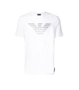 Emporio Armani - T-Shirt - t-shirt con logo white