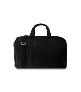 Emporio Armani - Borse - borsone in similpelle con logo nero