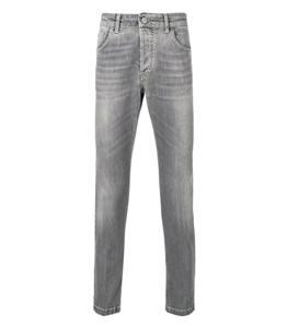 Entre Amis - Jeans - jeans cinque tasche corto grigio