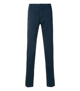 Entre Amis - Pantaloni - pantalone tasca america cotone corto con logo royal
