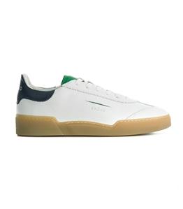 Ghoud - Saldi - sneaker in pelle liscia white/green/navy
