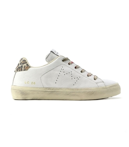Leather Crown - Scarpe - Sneakers - sneaker mlc06 white