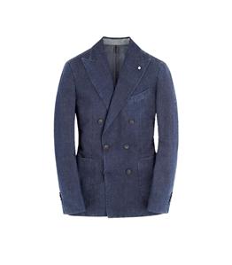 Luigi Bianchi Mantova - Giacche - giacca doppiopetto ultralight 2831