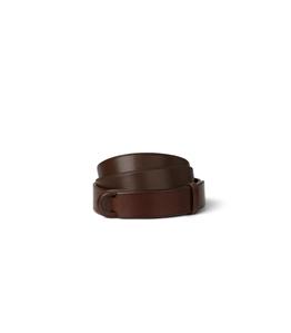 "Orciani - Cinture - cintura nobuckle""bull"" in cuoio bruciato"