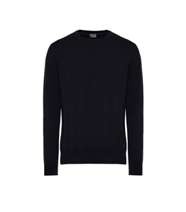 Peuterey - Saldi - maglia in cotone tricot blu