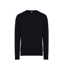 Peuterey - Maglie - maglia in cotone tricot blu