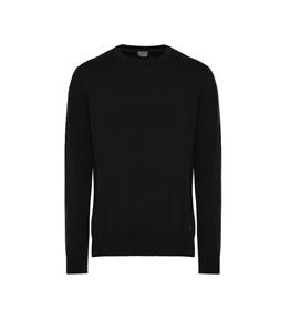 Peuterey - Maglie - maglia in cotone tricot nera